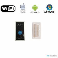 Super Mini ELM327 WiFi OBD2 Car Diagnostics Scanner +Power Switch iOS Android PC