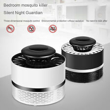 Mute Bug Zapper Insect Mosquito Killer Light Led Bionic Physics Trap Lamp Home