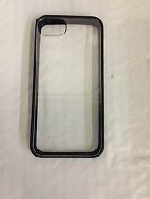 Griffin Reveal Ultra-Thin Cellphone Case iPhone 5 5S SE Black/ Clear GB35589