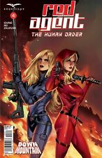 Zenescope's Grimm Fairy Tales Presents Red Agent: Human Order #4 Cover C Variant