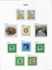s1743) EESTI ESTONIA 2005 MNH** Complete year sets 27v + 2S/S