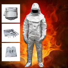 Good Thermal Radiation 1000°C Heat Resistant Aluminized Suit Fireproof Clothes