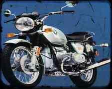 Bmw R75 6 A4 Metal Sign Motorbike Vintage Aged