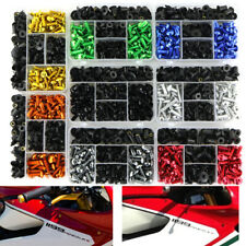 CNC Aluminum Fairing Fasteners Complete Bolt Kit For Kawasaki ZX6R 2007 2008