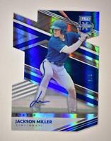 2020 Elite Extra Edition Status Die-Cut Signatures Auto #65 Jackson Miller 1/3