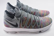 Nike Zoom KD10 KDX Mens Size 10.5 Basketball Shoes Multicolor 897815 900