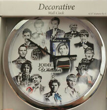 Doctor Who Clock - All 14 Doctors Christopher, Matt, David, Peter, John, Jodie +