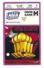 1998 NBA Finals Bulls Jazz Game 5 Ticket Stub Jordan Last UC Game 6/12 Dance