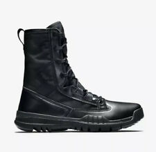 "Nike Sz 5 SFB Field 8"" Black Tactical Military Police Boots 631371 Men's $150"