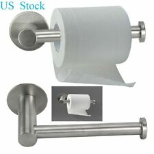 Stainless Steel Wall Mounted Toilet Paper Holder Rack Tissue Roll Stand Bathroom