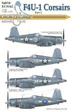 Eagle Cal Decals 1/32 Vought F4U-1 corsarios # 32162