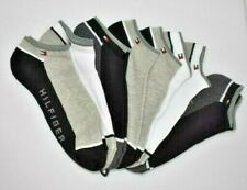 TOMMY HILFIGER MENS 6 PAIRS SOCKS SZ 7-12 NEW WITH TAG