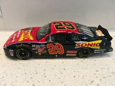 Dual-AUTOGRAPHED Kevin Harvick & Childress 2002 Sonic Chevy 1/24 Action Diecast