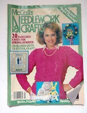 McCall's Needlework & Crafts ~ April 1985