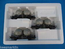 "Marklin 46623 NS Wagen Set ""Bollenwagen Silo Cars"""