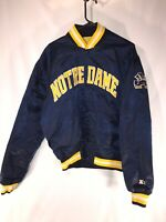 MENS VINTAGE NOTRE DAME SATIN JACKET FIGHTING IRISH STARTER 90s MENS XL NCAA