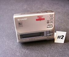 Sharp MD-MS100-S Personal MiniDisc Player/Recorder powered spares/repair #2