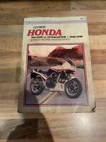 Honda VF700F 750F 1000F 83-85 Comprehensive Clymer Workshop Manual