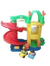 Fisher Price Little People Plastic Multi Coloured Toy Garage Circa 2006 Cars