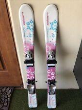 90cm Elan Lil' Magic Youth kids girls skis With Adjustable bindings
