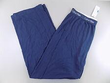 Calvin Klein $120 Blue Lounge Pants MEN SIZE XL Sleepwear MODAL SALE PAJAMA O10