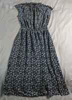 Banana Republic Women's Short Sleeve Floral Midi Dress SH3 Rose Petal Size 4 NWT
