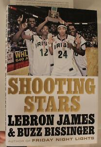 Lebron James Autographed Shooting Stars Book Upper Deck Authentic 1st print