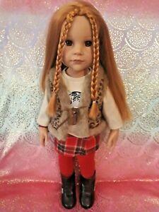 Götz Puppe - Hannah and her Dog - mit original Outfit - Hannah und ihr Hund -