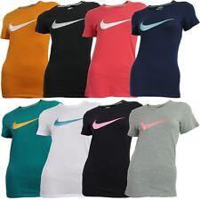 Nike SWOOSH IT UP TEE schwarz weiß blau rot grün orange Damen T-Shirt NEU OVP