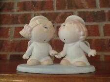 "Bumpkins ""Forever Friends"" Angel Figurine EUC"