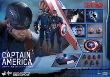 Hot Toys Captain America Civil War Chris Evans Steve Rogers 1:6 Figure UK