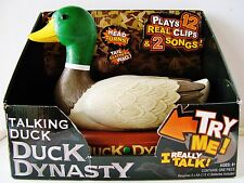 NIB - Official A&E Duck Dynasty Animated Talking Duck (Plays 12 Clips & 2 Songs)