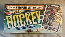 1990 Topps Hockey Official Complete Set 396 Cards Factory