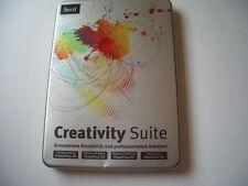 Creativity suite-photoplus, DrawPlus, pageplus, webplus 4 vollvers pc NEUF