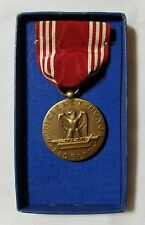 World War 2 Good Conduct Efficiency Honor Fidelity Medal