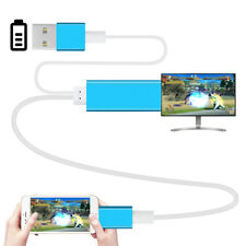 Plug & Play 2m 1080P Lightning to HDMI/HDTV AV TV Cable Adapter for iPhone iPad