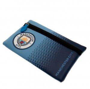 Manchester City Pencil Case Back to School MCFC Stationery Man City Blue