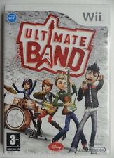 OCCASION Jeu ULTIMATE BAND nintendo WII francais disney musique game music PAL