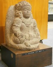 Antique 15Th Century Javanese Stone Sculpture Buddhist Hindu Indonesian Museum