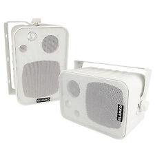3-Wege-Boxen mit Halterung, Lautsprecher mit Wandhalterung, 120 Watt, Top Klang