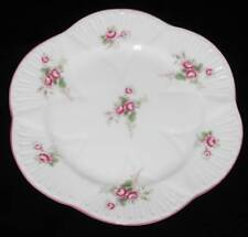 "Shelley BRIDAL ROSE 13545 Bread Plate, 6"" Across"