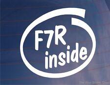 F7R à l'intérieur de Nouveauté Voiture / Fenêtre / autocollant pour Renault Clio Williams / Megane