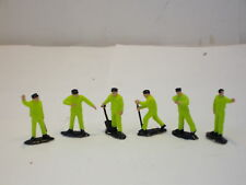 **  TRACK  SIDE  **  WORK  GANG  6  FIGURES  VERY  GOOD  CONDITION
