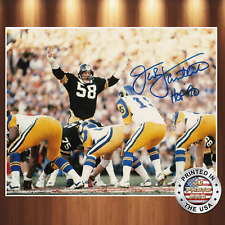 Jack Lambert  Autographed Signed 8x10 High Quality Premium Photo REPRINT