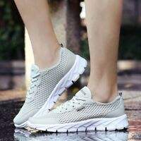 Men's Big Size Athletic Shoes Casual Lightweight Breathable Sneakers Water Sport