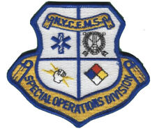 FDNY EMS Emergency Medical Service Special Operations Division Patch.