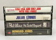 Lot of 4 Cassette Tapes ~ 80's, Electronic, Rock, Pop