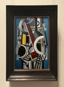 FERNAND LEGER  PAINTING - 20TH CENTURY ART- CUBIST