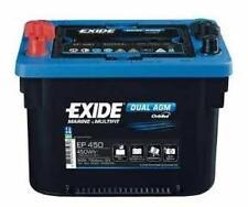 EP450 exide dual agm MAXXIMA marine battery