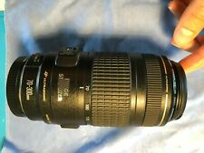 Canon EF 70-300mm f/4-5.6 IS USM Telephoto Zoom Lens - Used - Works Great